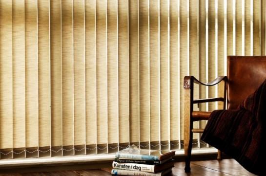 Persiana Vertical – Tecido e PVC